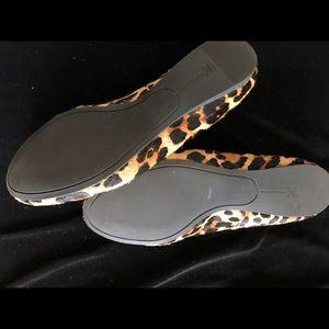 INC International Concepts Shoes - Animal Print INC Loafers SlipOn Flat Leopard Sz 7